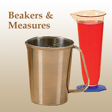 Chocolate Beakers Measures