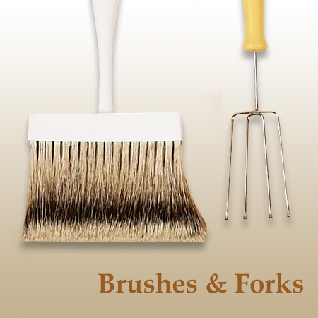 Chocolate Brushes & Forks