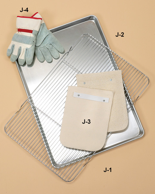 Hilliard's Chocolate System Sheet Pan, Panhandelers, insulated gloves