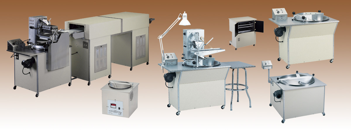 Hilliard's Chocolate System Equipment List