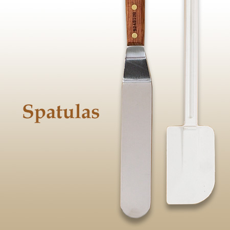 Chocolate Spatulas