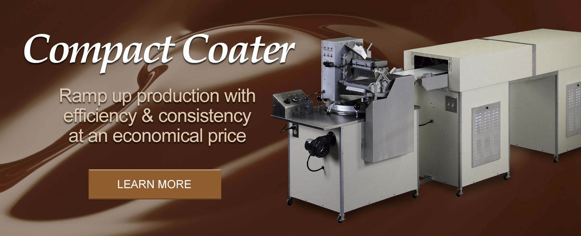 Hilliard's Chocolate Compact Coater Machine